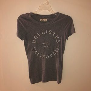 Grey Hollister top